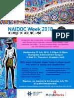 NAIDOC 2018 Poster A3 Export