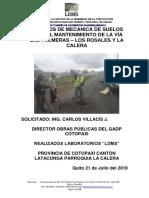 Informe Tecnico y Diseño via La Calera 20