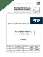 Parametro de Diseño PTAR