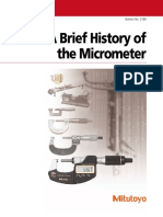 History of the Micrometer