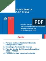 Política de Eficiencia Energética en Chile