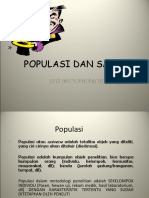 Populasi Dan Sampel Kul