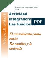 actividad integradora  Las funciones