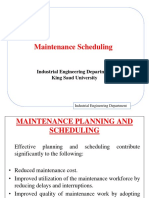 Class 11 - Maintenance Planning and Scheduling_dr.adel