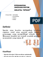 PPT Sprain