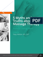 5 Myths and Truths About Massage Therapy Final With Page Numers