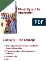 elascticity