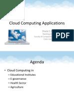 Cloud Applications20111227