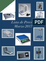 Balanzas de Precision Catalogo