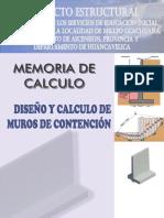 04_memoria de Calculo Estructural - Muros