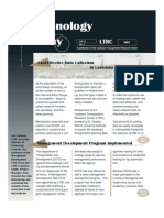 LTRC's Technology Today Volume 16 Issue 2 Year 2001