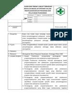 4 Sop Koordinasi Dan Integrasi Penyelenggaraan Program Dan Penyelenggaraan Pelayanan