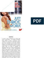 338605329 Just Three Words Segunda Entrega Trilogia Soho Brayden Melissa