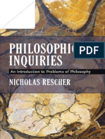 Philosophical Inquiries an Introduction to Problems of Philosophy