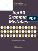 Top 50 Grammar Mistakes - How to Avoid Them (Easy English!)