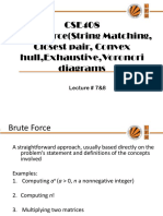 Lecture 7&8(Brute Force)