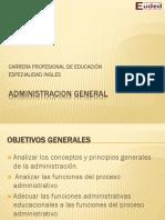 Sesion 1 Administracion General