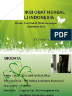 Identifiksi Obat Herbal Asli Indonesia.ppt 2