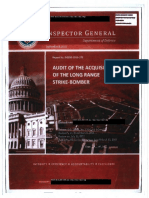 DOD OIG Report 2015-170, Audit of the Acquisition of the Long Range Strike-Bomber