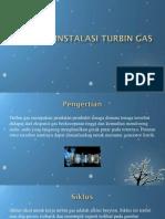 Susunan Instalasi Turbin Gas