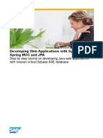 Developing Web Applications With Sybase ASE, Spring MVC and JPA