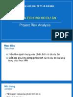 Chương Phân tích rủi ro dự án.pptx