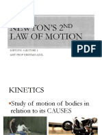 Lec 3.3 Newtons Second Law