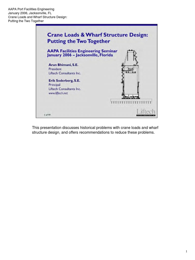 Crane-Loads-and-Wharf-Structure-Design-Workshop-Putting-the