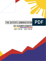 Duterte Administration Year 2