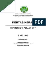 Kertas Asrama Terbuka 2017