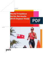 World Triathlon Series Bermuda 2018 Impact Study