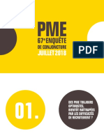 67ème enquête de conjoncture PME- Bpifrance