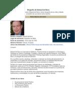 Biografía de Edward de Bono.docx
