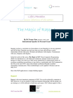 The Magic of Rapport-NLP