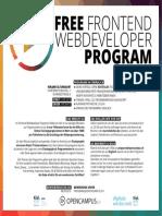 FREE FRONTEND WEBDEVELOPER PROGRAM warmup