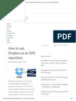 Dropbox SVN Repository_ How to Use Dropbox as SVN Repository
