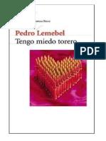 Pedro Lemebel -Tengo miedo, torero.pdf