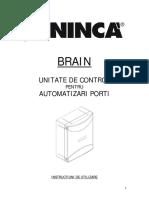 Manual Utilizare Kit Porti 2.1 2 Controler Brainy Beninca Italia