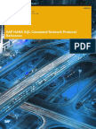 SAP HANA SQL Command Network Protocol Reference En
