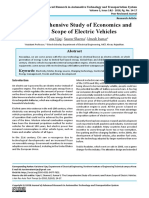 The Comprehensive Study of Economics and Future Scope of Electric Vehicles