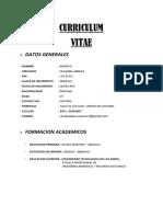 Curriculum Vitae Americo1