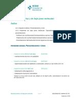 Heparinas Sódica y de Bajo Peso Molecular Hospital SCIAS Barcelona (Equivalencias)