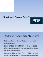 03 Stack and Queue Data Structures
