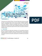 Zetta - Uma Plataforma API-First Para IoT