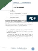 Calorimetria Final