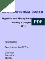 Gastrointestinal System 2014