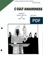 "Satanic Cult Awareness  ""training manual"""