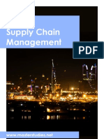 Mba in Supply Chain Management_course Description