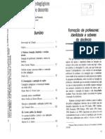 PIMENTA,Saberes pedagógicos e atividade docente - identidaed e Saberes.pdf