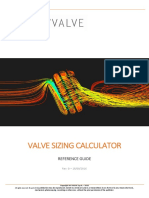 valve sizing calclation
